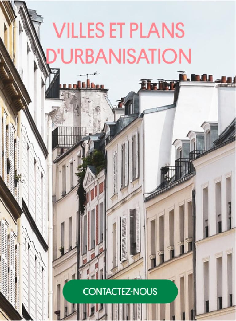 villes et plan d'urbanisation